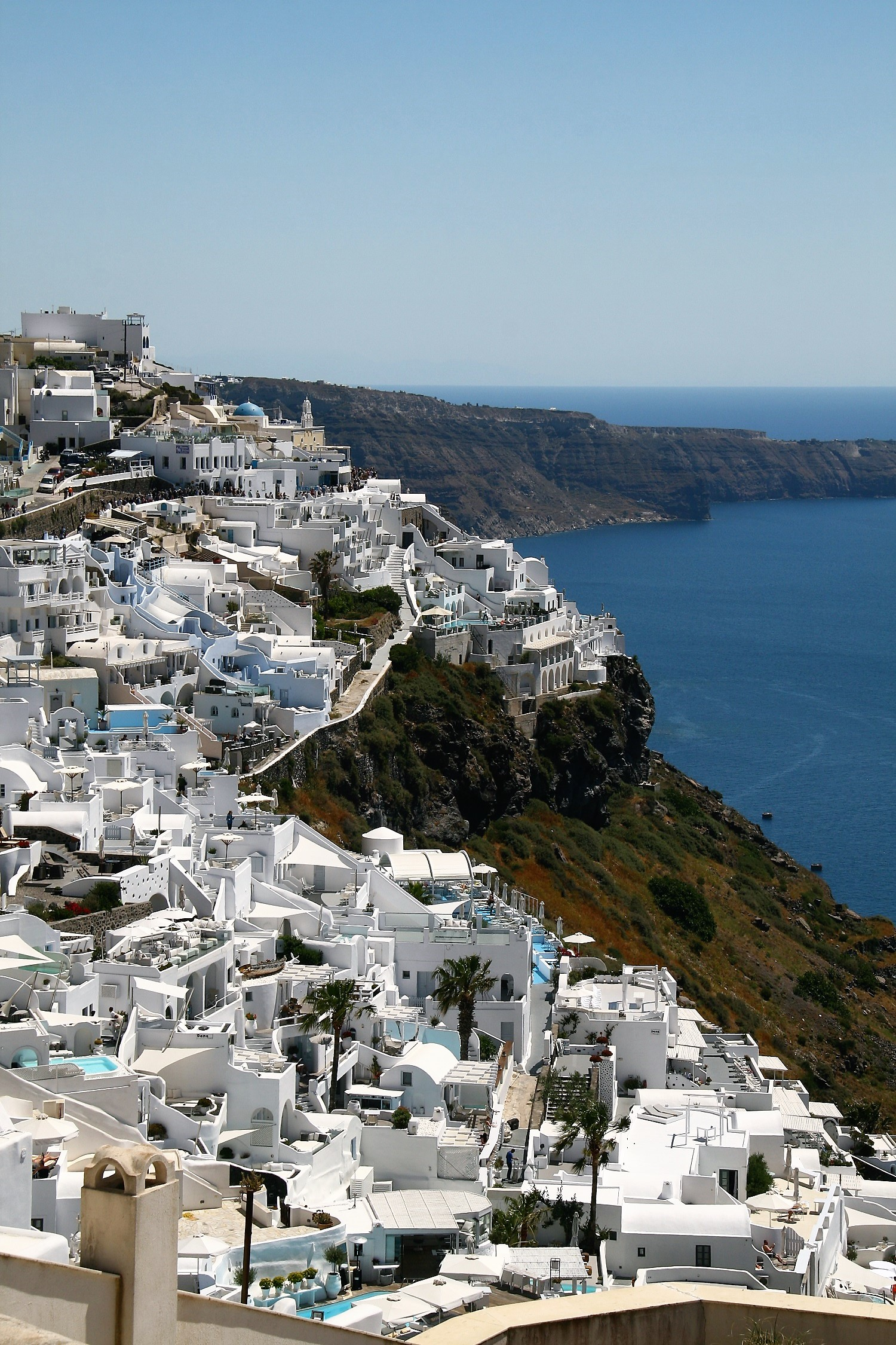 Santorini is een must op je rondreis door Griekenland